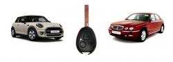 Изработка на нов ключ за Mini Cooper One и Rover 75