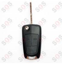 Оригинален ключ за Opel 2 бутона