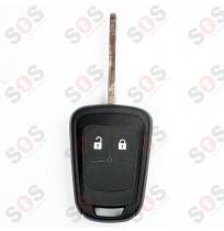 Оригинален ключ за Opel 2 бутона нов профил