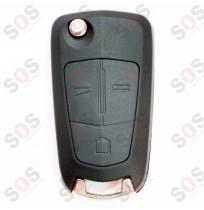 Оригинален ключ за Opel 3 бутона