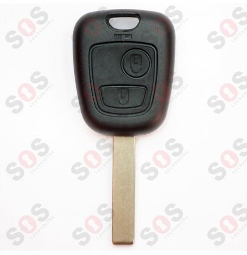 Оригинален ключ за Пежо HU83