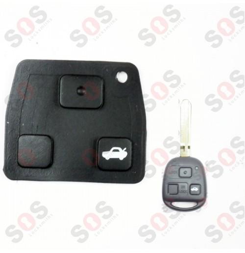 Бутони за ключове на Toyota