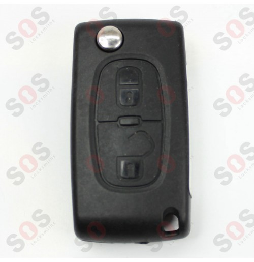 Оригинален сгъваем ключ за Peugeot 308